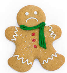 gingerbread man cookie image