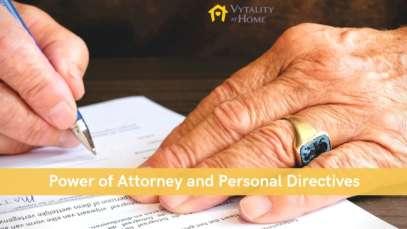 Senior signing document