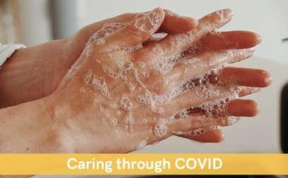 washing hands for Coronavirus